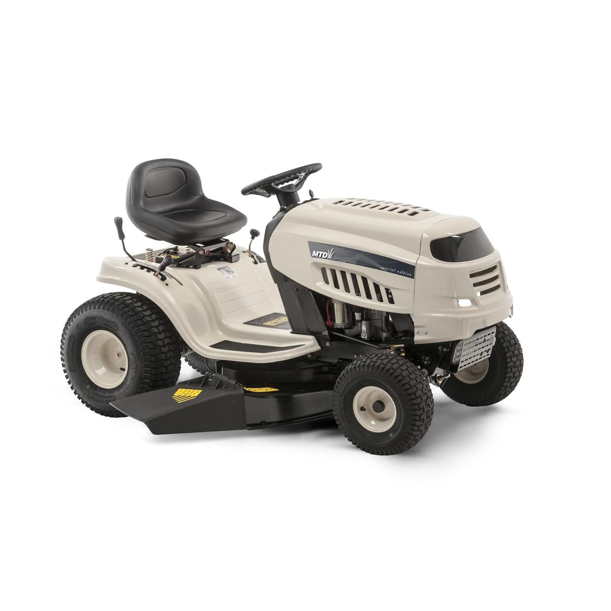 travní traktor s bočním výhozem a hydrostatickou převodovkou MTD DL 96 H