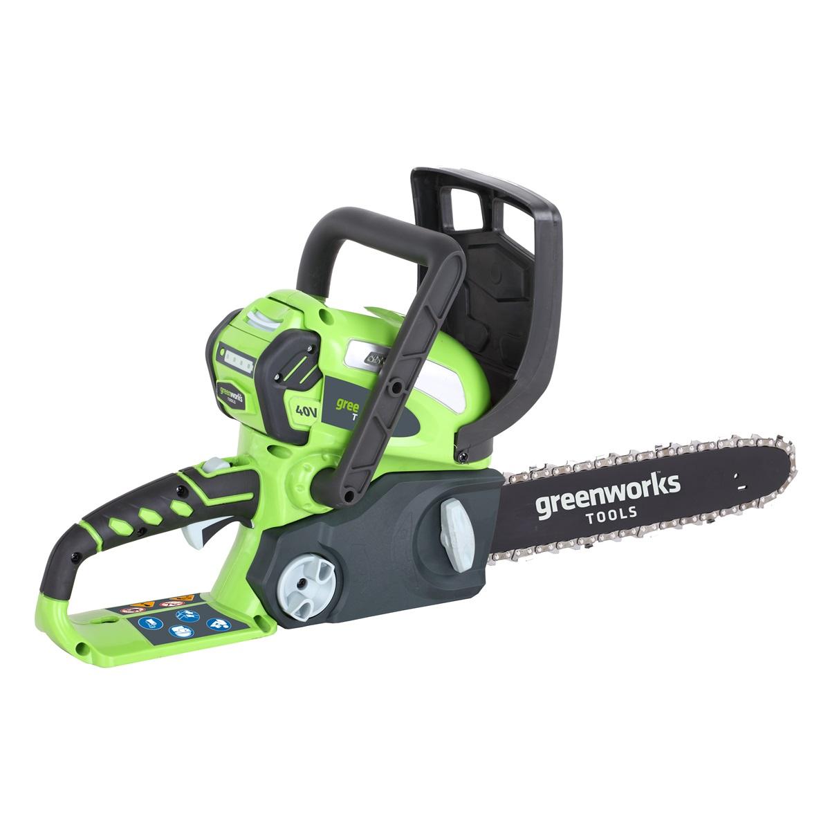 reťazová píla s aku motorom 40 V Greenworks G40CS30