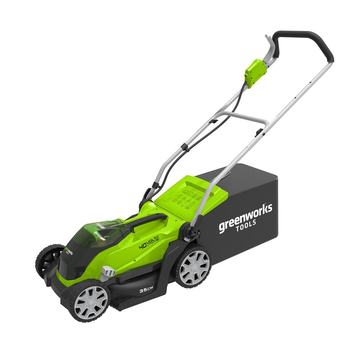 akumulátorová trávna kosačka 40 V Greenworks G40LM35