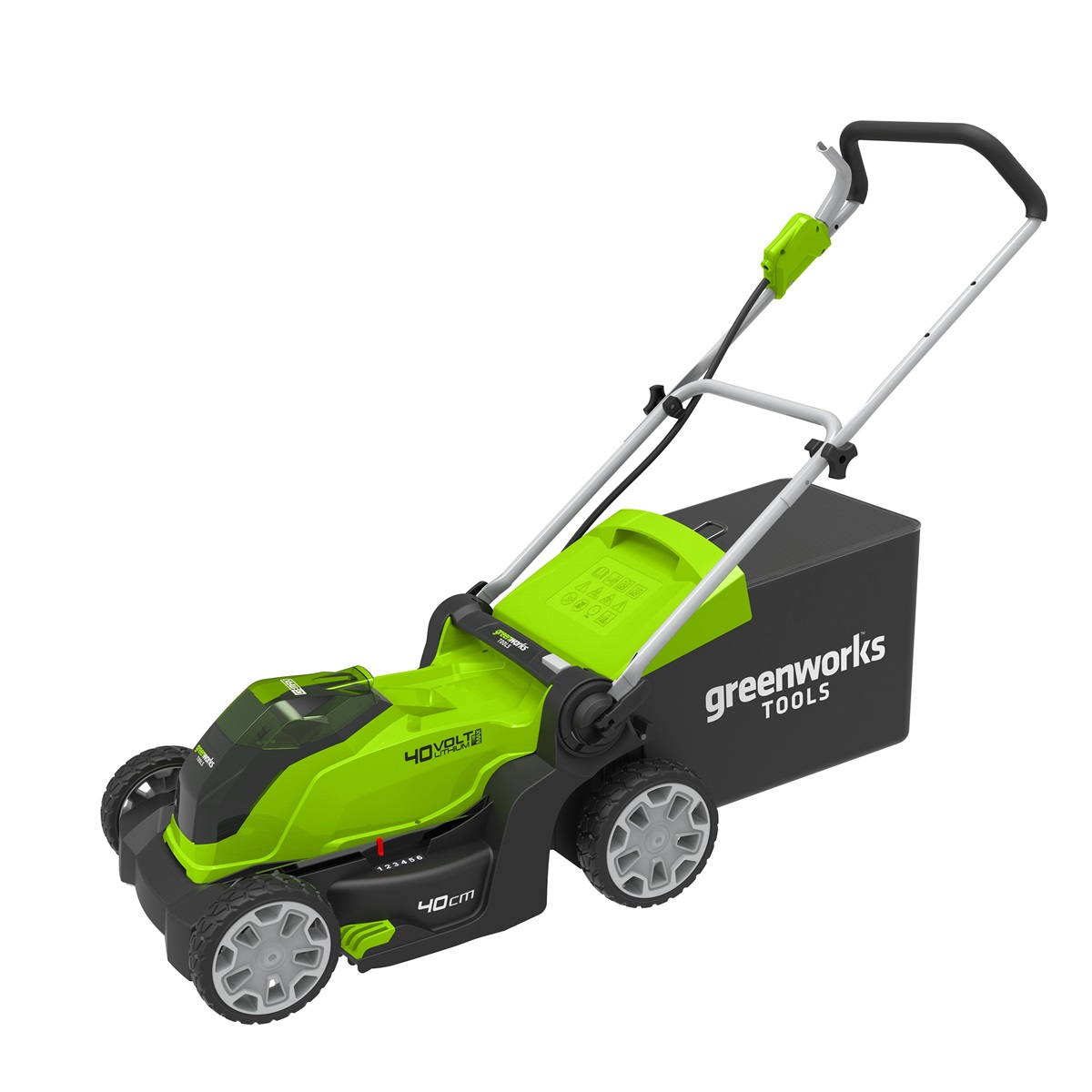 akumulátorová trávna kosačka 40 V Greenworks G40LM41