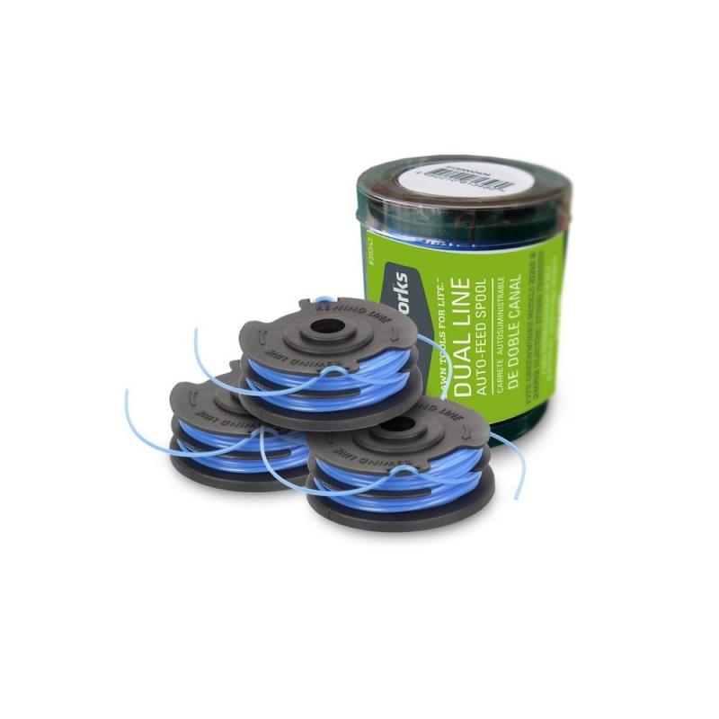 Greenworks cievka struny pre vyžínače 40 V (set 3 ks)