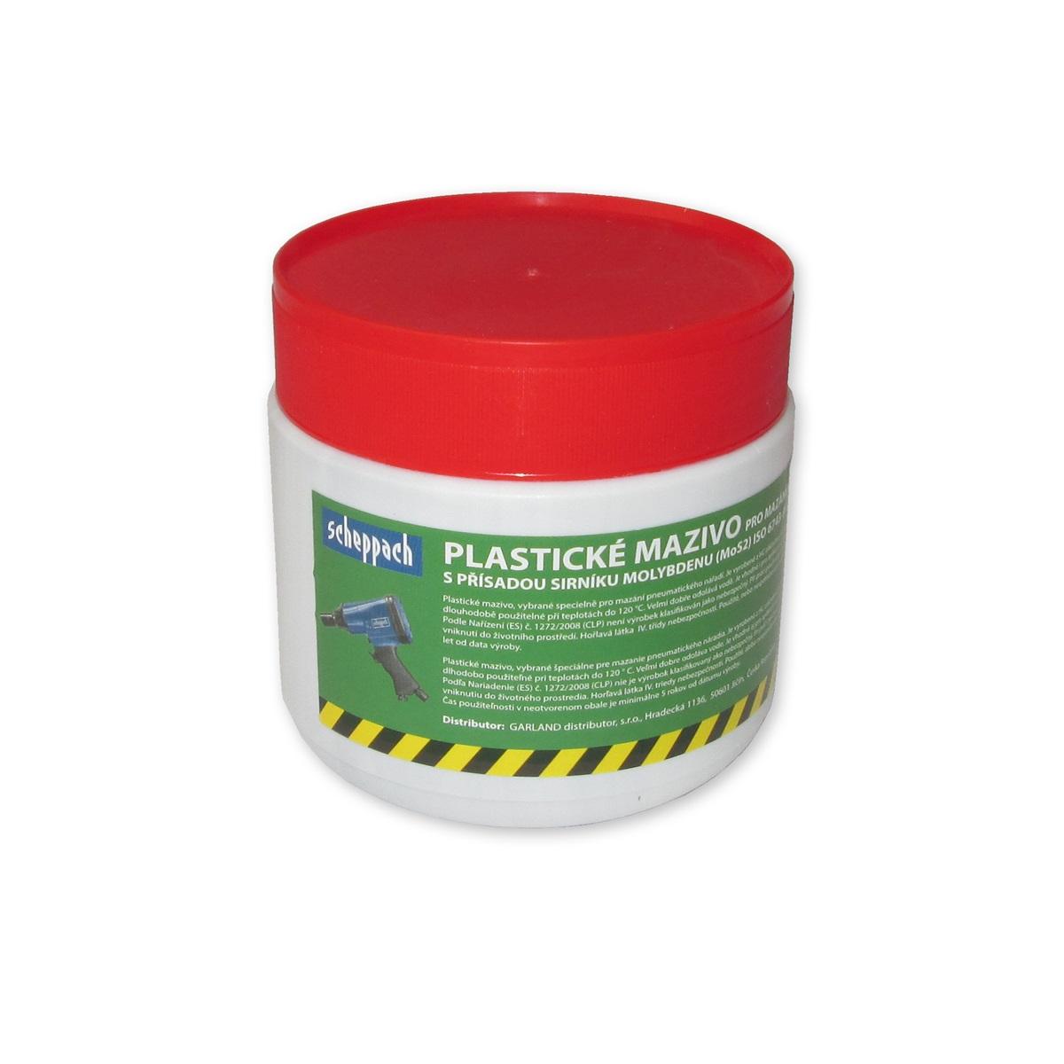 Scheppach Vysokoteplotné a vysokotlakové plastické mazivo pre pneumatické náradie
