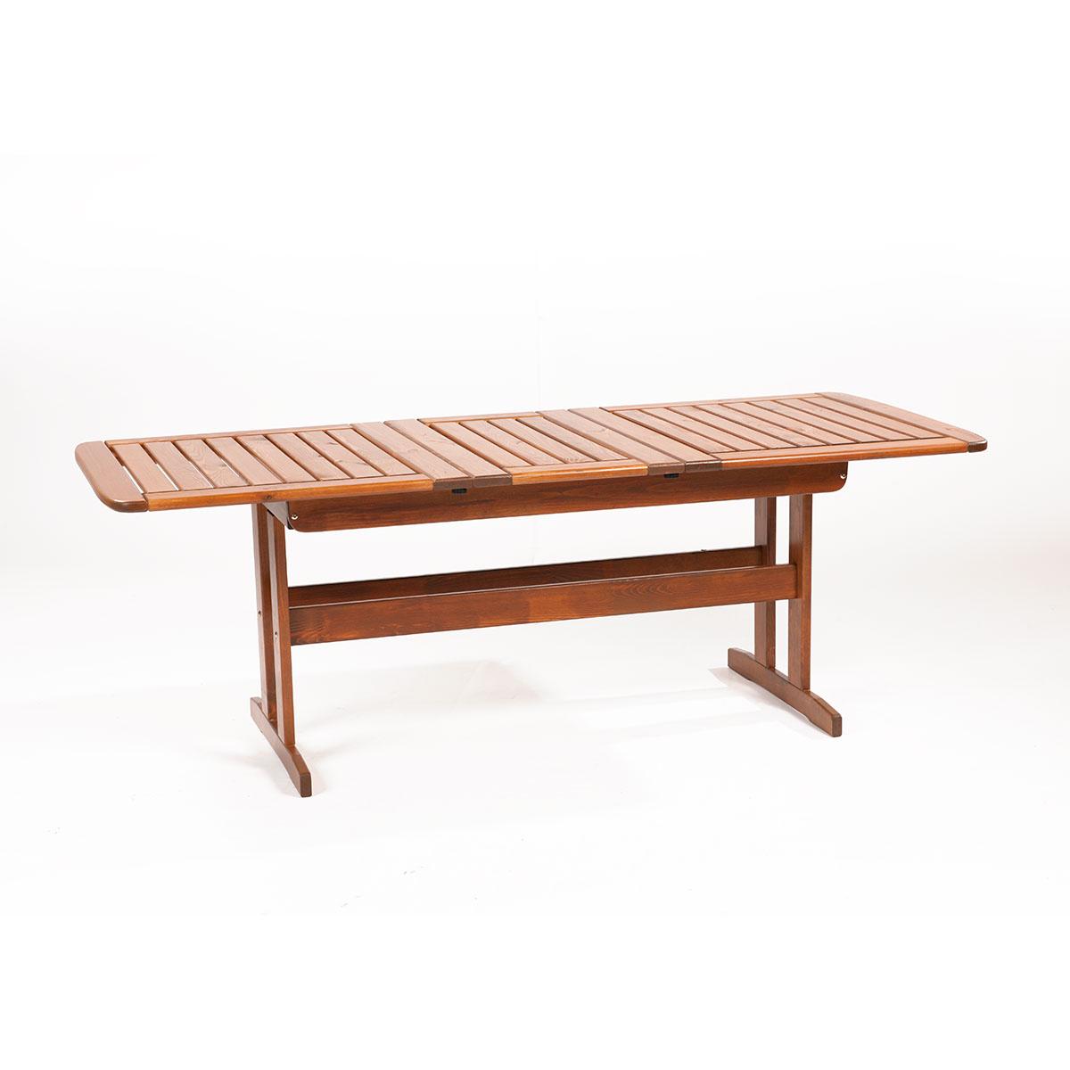 rozkladatelný zahradní stůl z borovice Garland Skeppsvik