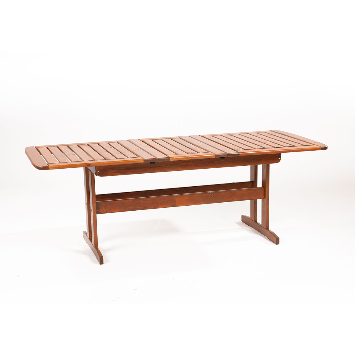 rozkladatelný zahradní stůl z borovice 160/210 x 88 x 73 cm Garland Skeppsvik