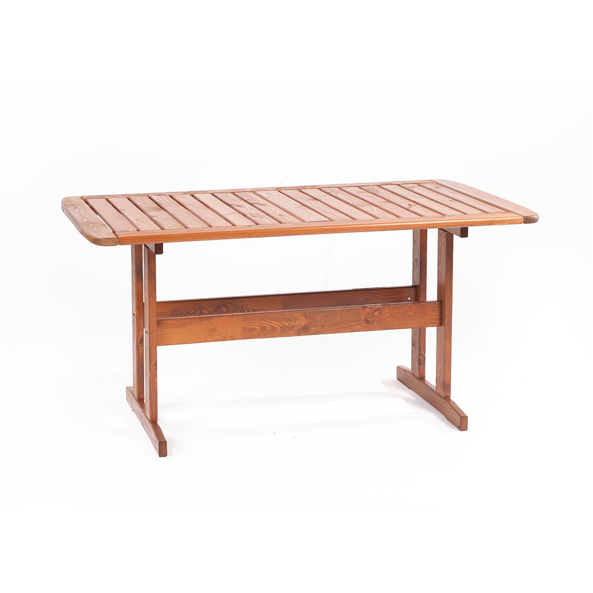 zahradní stůl z borovice 150 x 88 x 73 cm Garland Skeppsvik