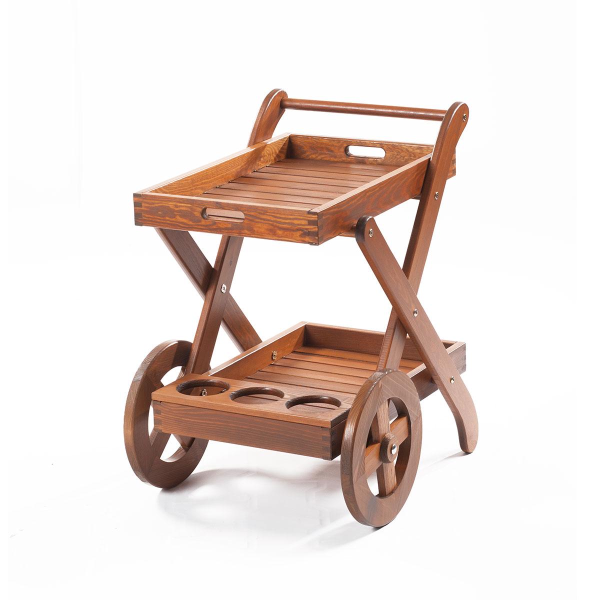 servírovací stolek z borovice Garland Tina