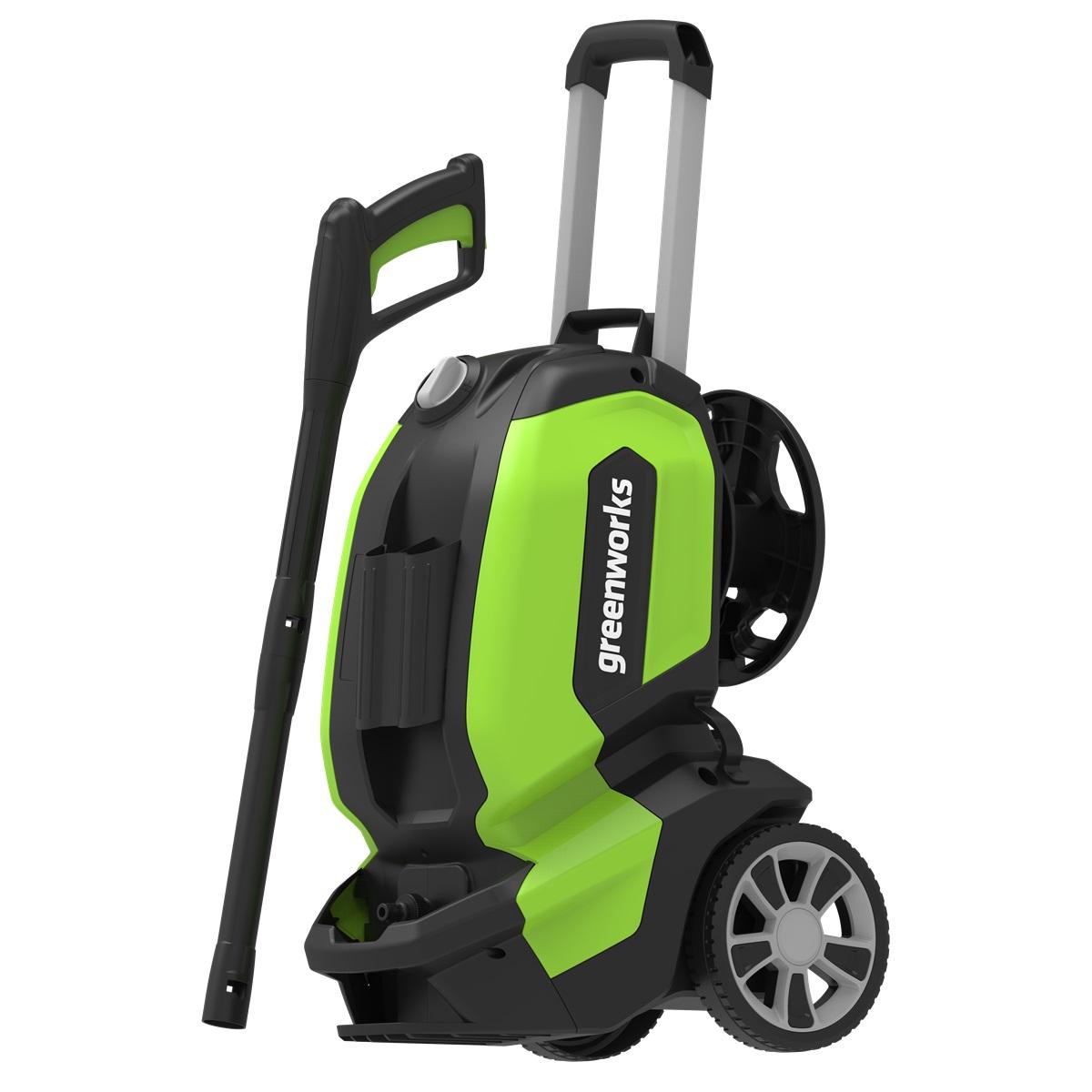 elektrický vysokotlakový čistič 180 bar s bezuhlíkovým motorom Greenworks G70