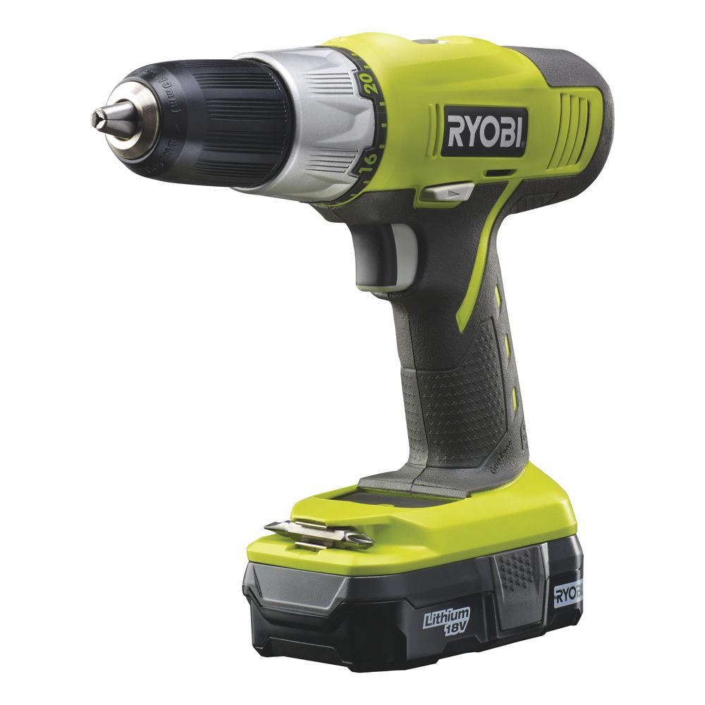Ryobi R18 DDP L13S18 V 2-rýchlostna vŕtačka/skrutkovač