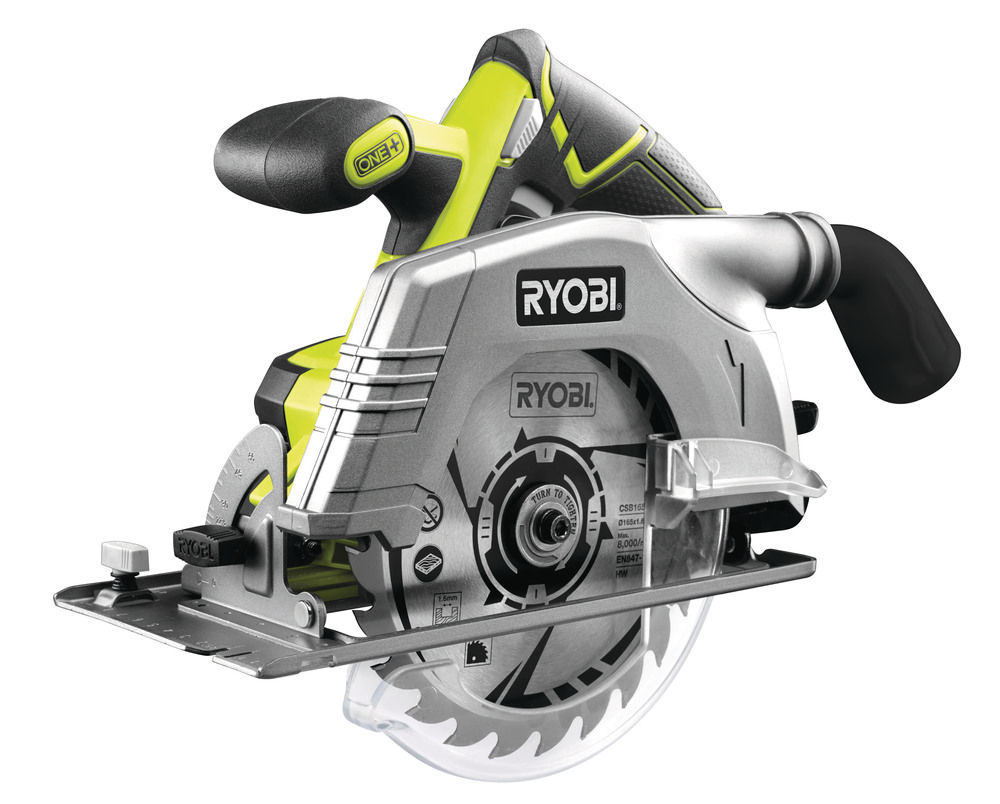 Ryobi RWSL 1801 Maku ručná okružná píla s laserom ONE+