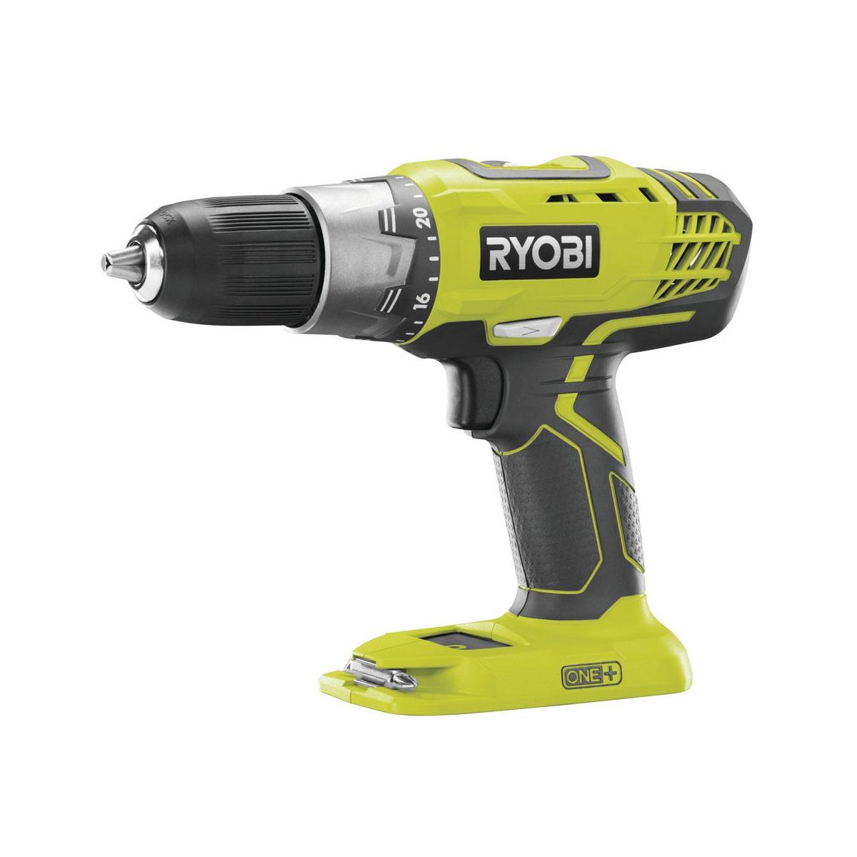 Ryobi R18DDP2-0aku 18 V vrtačka/šroubovák ONE+(bez baterie a nabíječky)