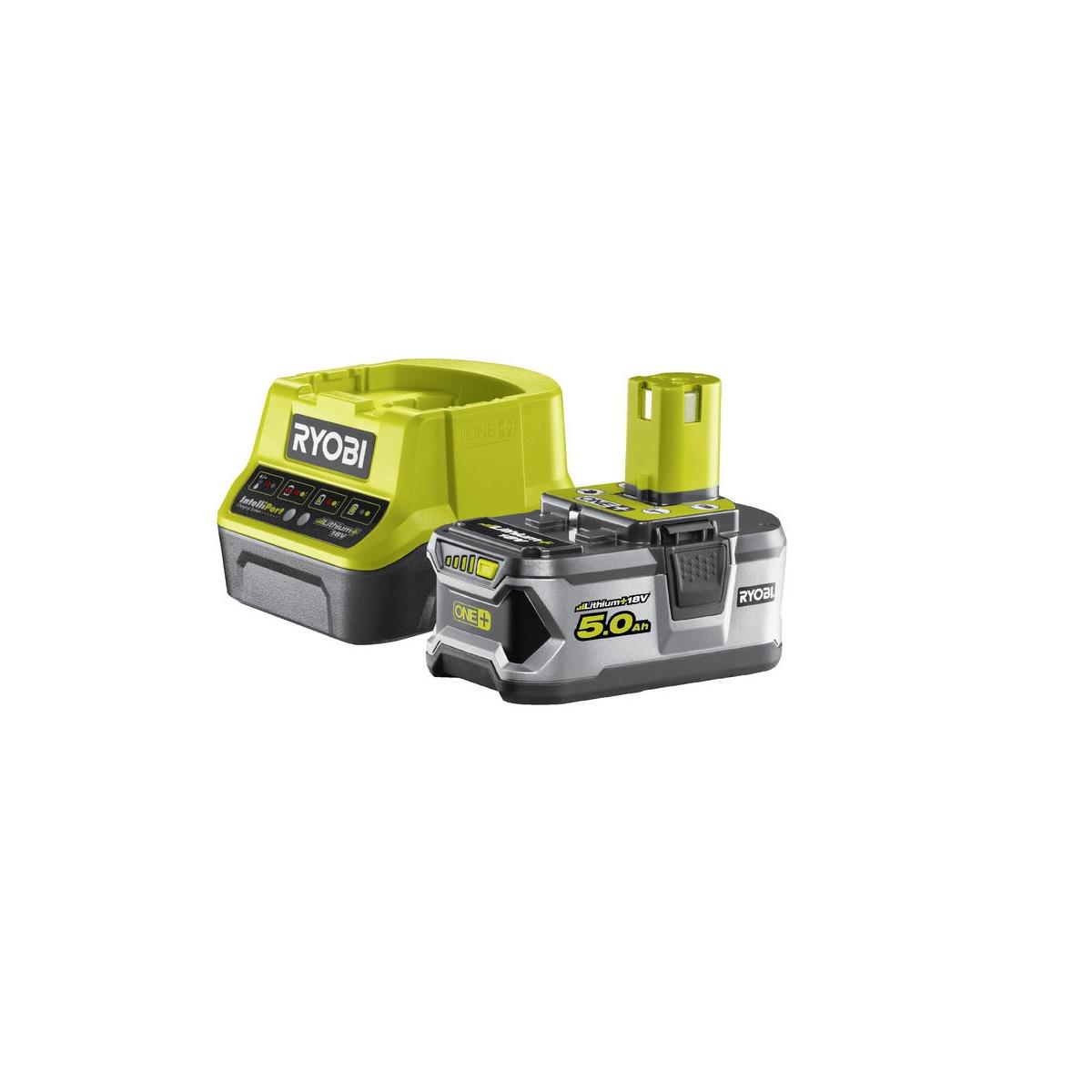 Ryobi RC18120-150sada 18 V lithium iontová baterie 5 Ah s nabíječkou RC18120 ONE+