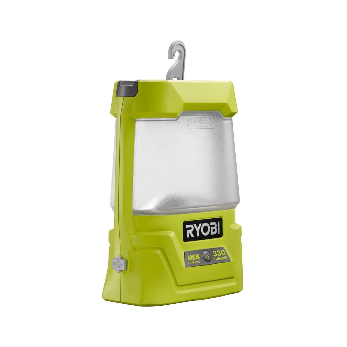 Ryobi R18ALU-0aku 18 V svítilna s USB výstupem(bez baterie a nabíječky)