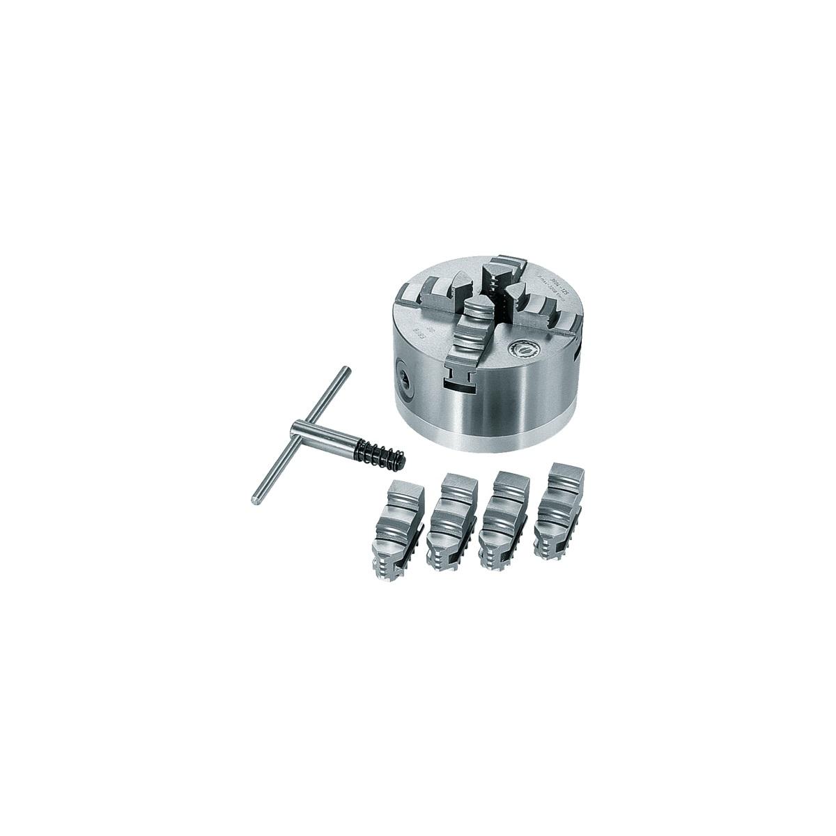 Scheppach štvorčeľusťové skľučovadlo 125 mm (4ks)
