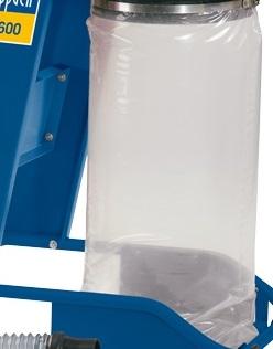 Scheppach vak plastový na piliny pre dc 12
