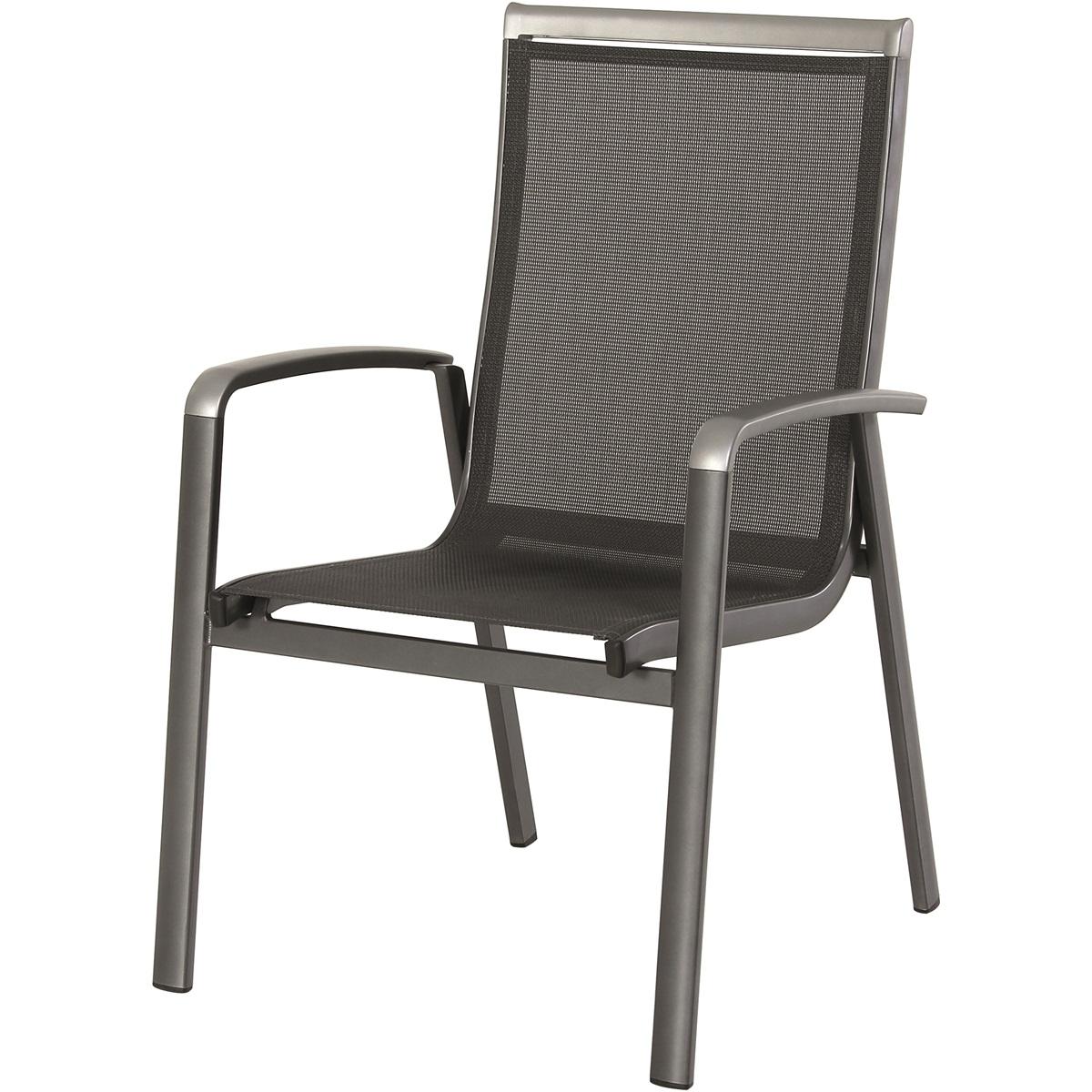 hliníková stohovatelná židle 69 x 63,5 x 99,5 cm MWH Forios