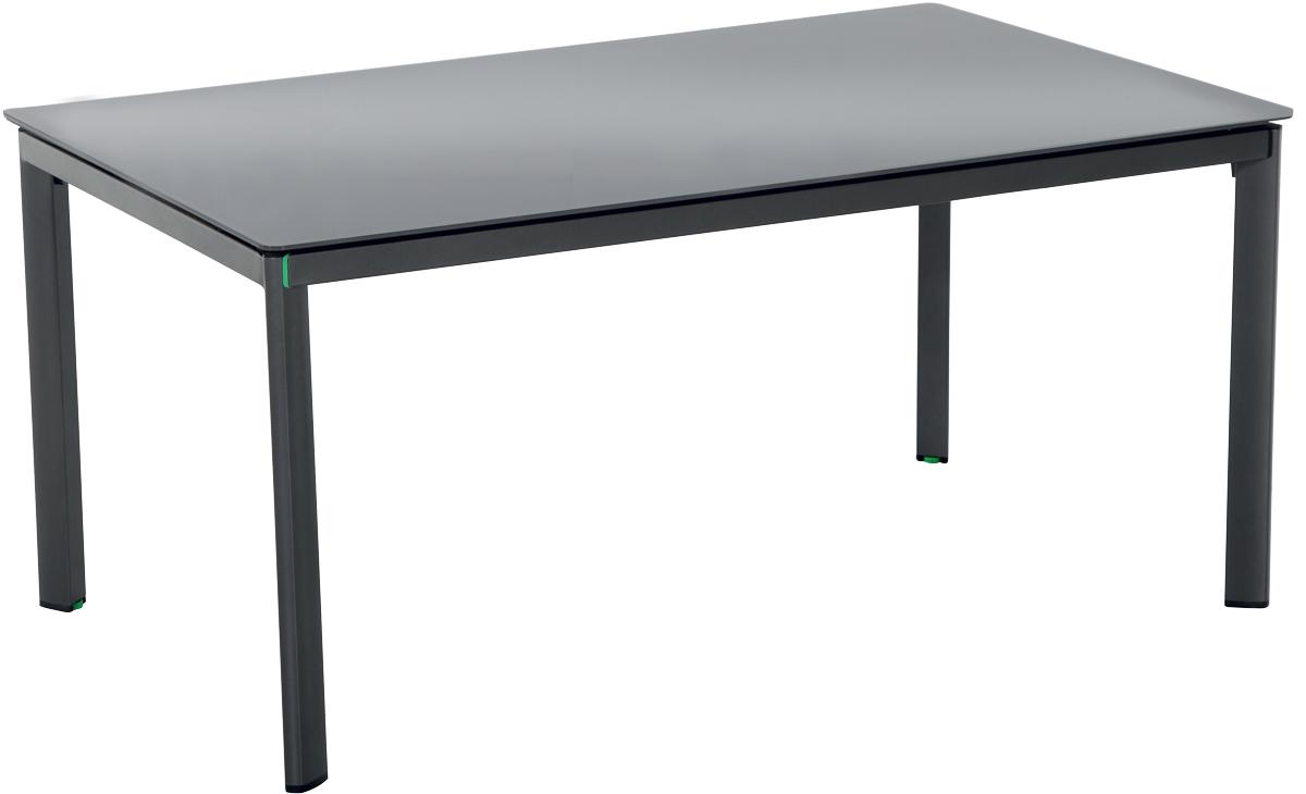 stůl s hliníkovým rámem 160 x 95 x 74 cm MWH Alutapo Creatop-Lite