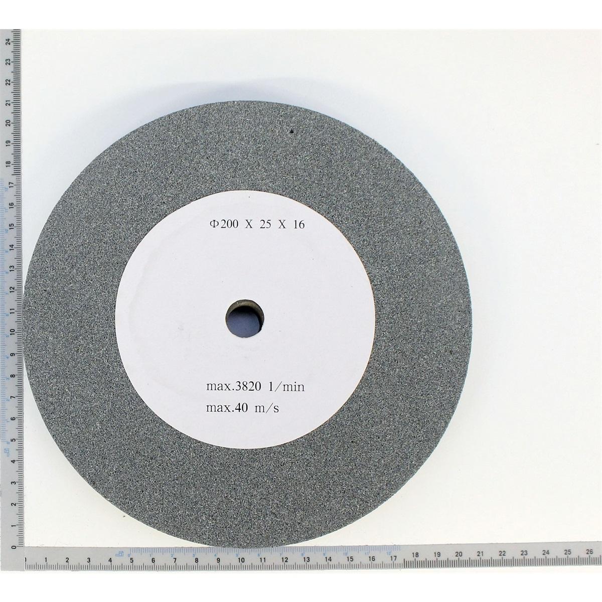 Scheppach brúsny kotúč 200x25x16, zrnitosť 60