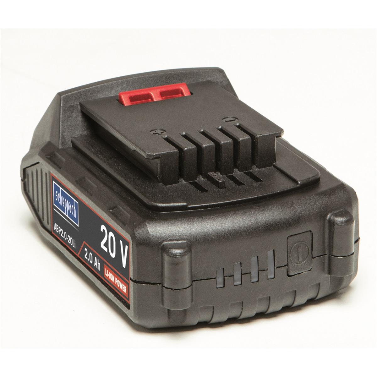 Scheppach ABP2.0-20Li20 V lithium iónová batérie 2 Ah