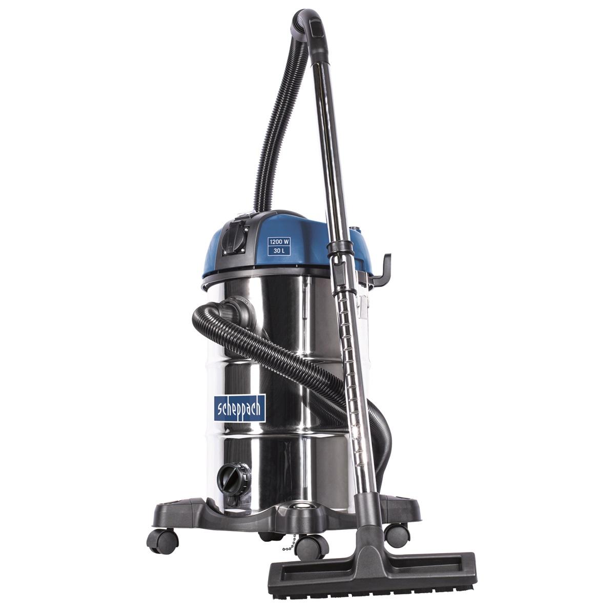 vysávač na mokré / suché vysávanie s mechanickým oklepom Scheppach ASP 30 PLUS