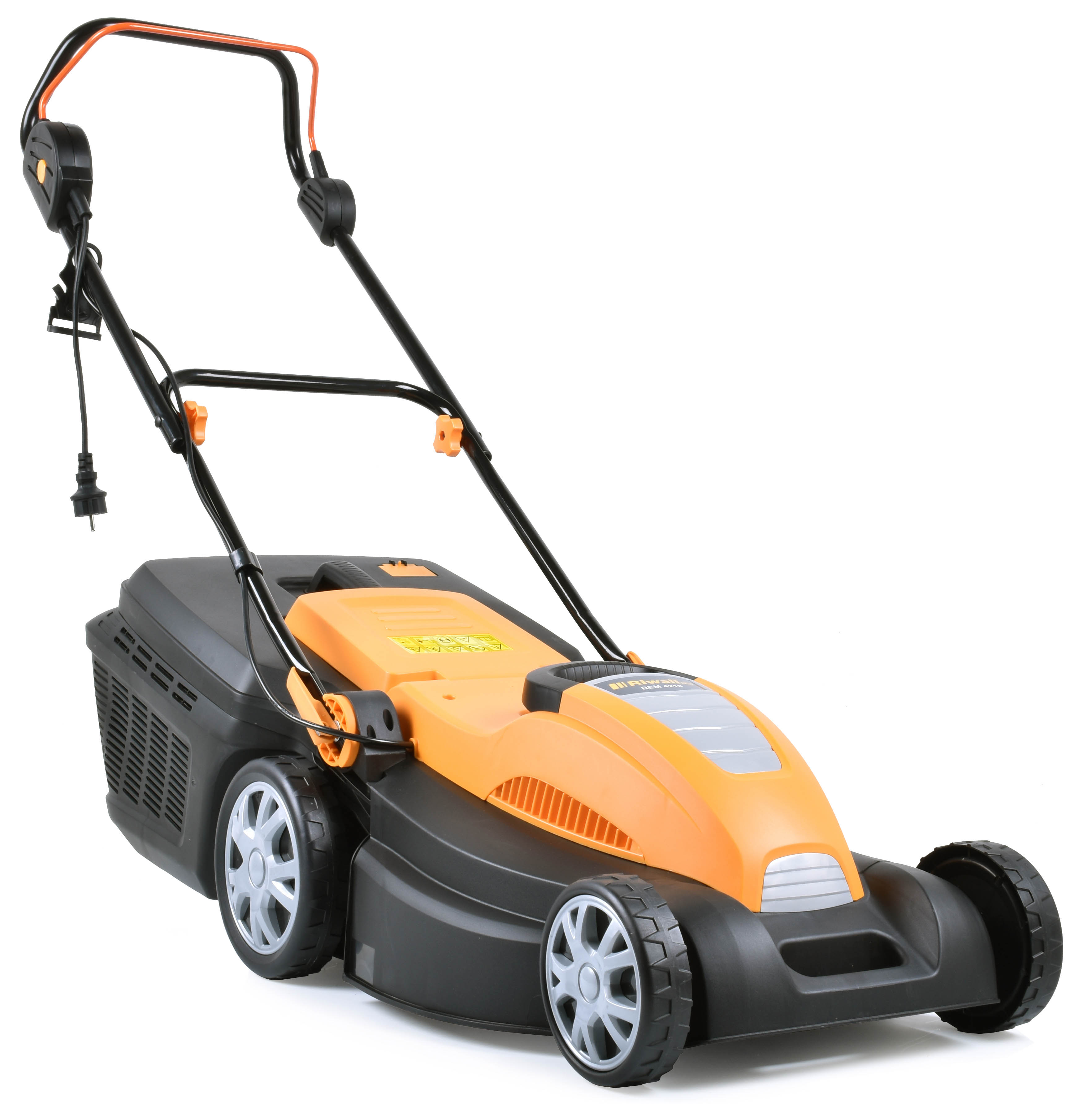 travní sekačka s elektrickým motorem 2 v 1 Riwall PRO REM 4218