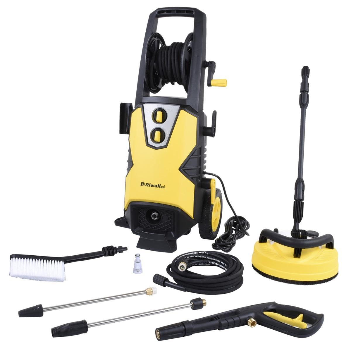 elektrický vysokotlakový čistič 170 bar Riwall PRO REPW 170 SET