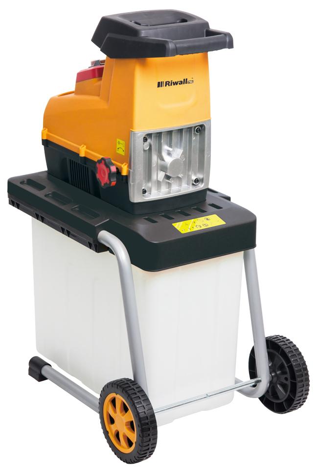elektrický valcový drvič s boxom 3000 W Riwall PRO RES 3044 B