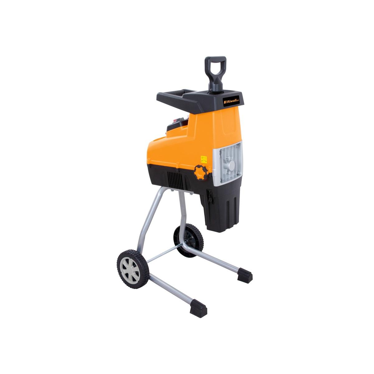 válcový drvič s elektrickým motorom 3000 W Riwall PRO RES 3044