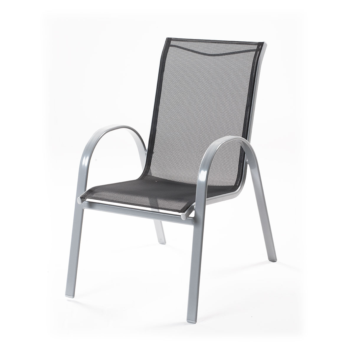 hliníková stohovatelná židle 74 x 56 x 94 cm Creador Vera Basic