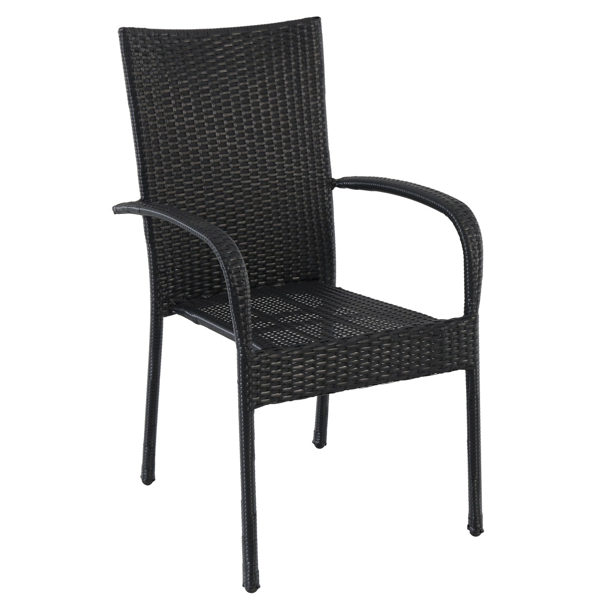 Creador Améliestohovatelná židle z tahokovu/ratanu
