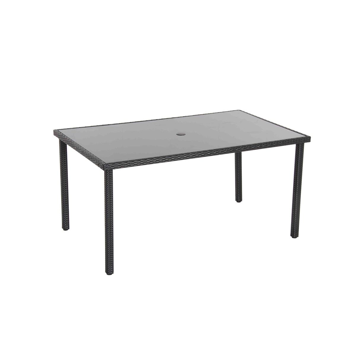 stůl s ratanovým výpletem Creador Wicke 150