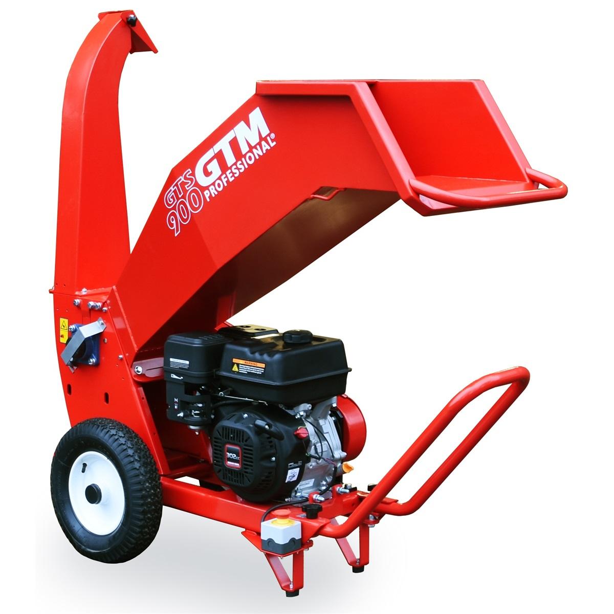 GTM GTS 900Gdrtič dřeva s benzinovým motorem