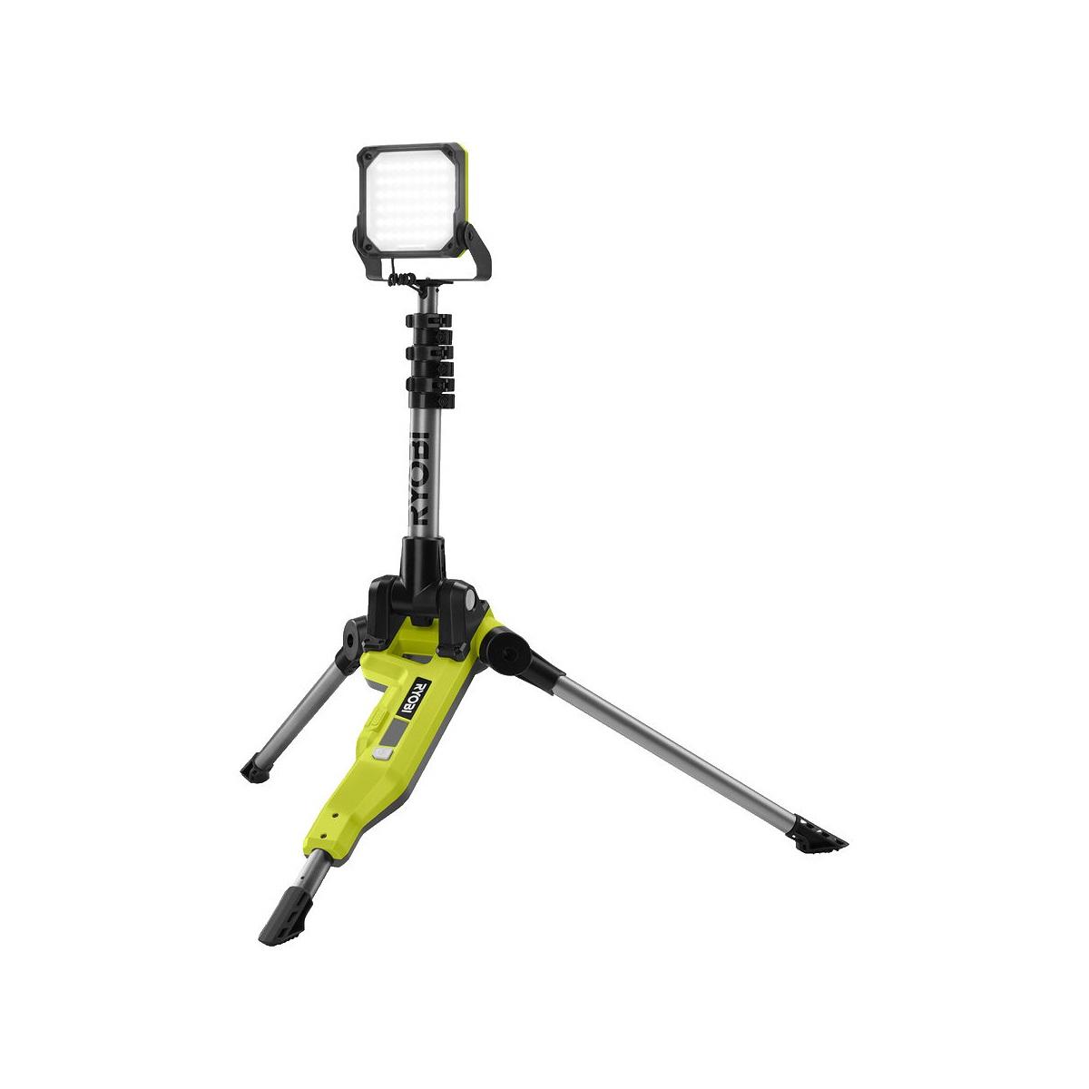 Ryobi R18TL-0aku 18 V pracovní reflektor se stojanem ONE+(bez baterie a nabíječky)