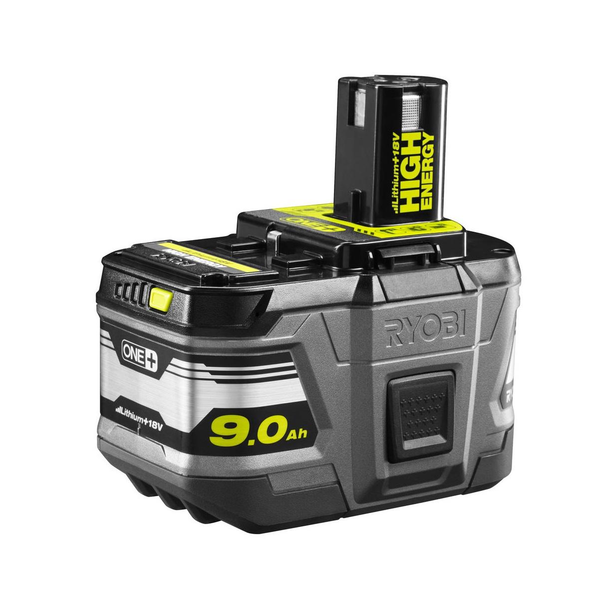 Ryobi RB18L9018 V lithium iontová HIGH ENERGY baterie 9 Ah ONE+