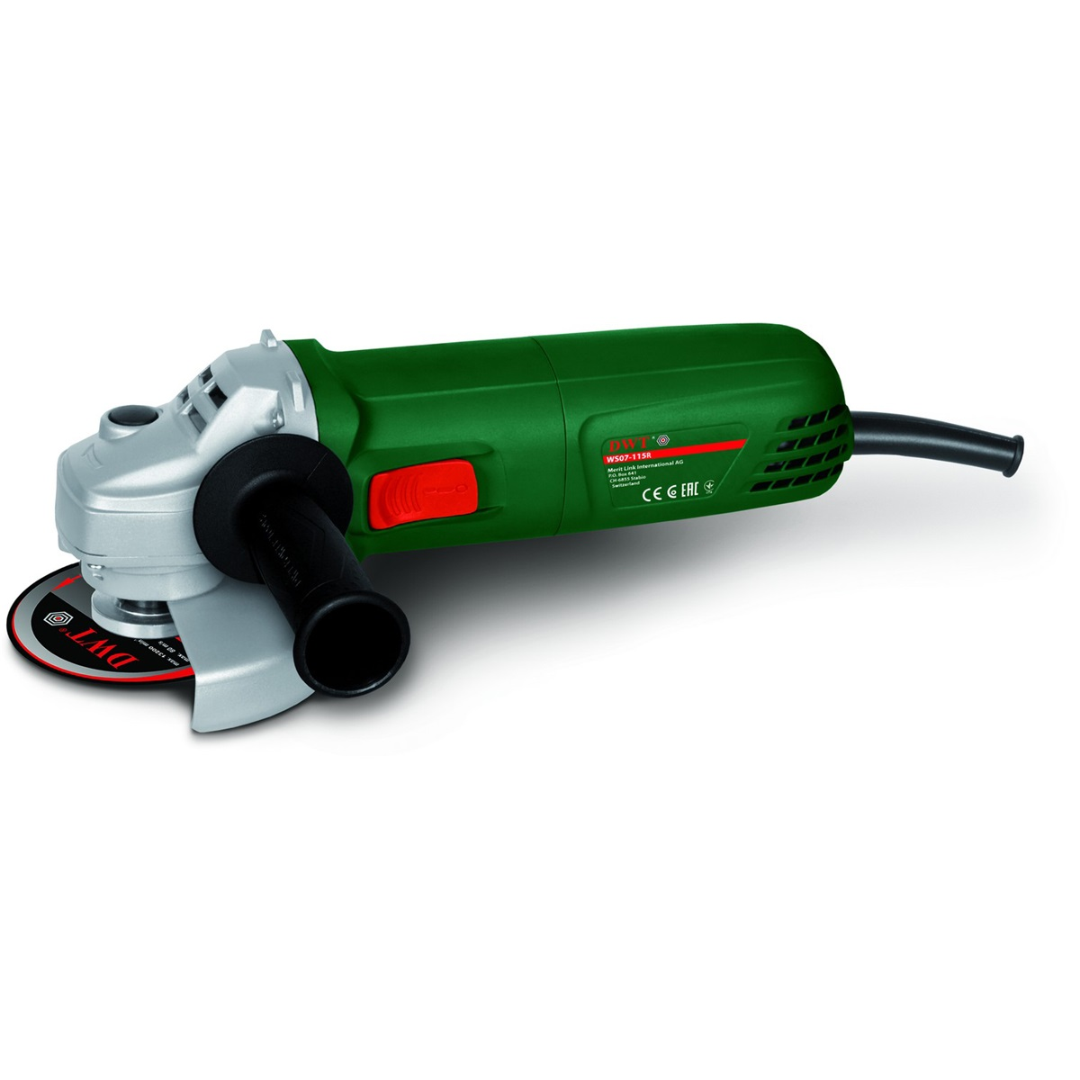elektrická úhlová bruska 115 mm DWT WS07-115R