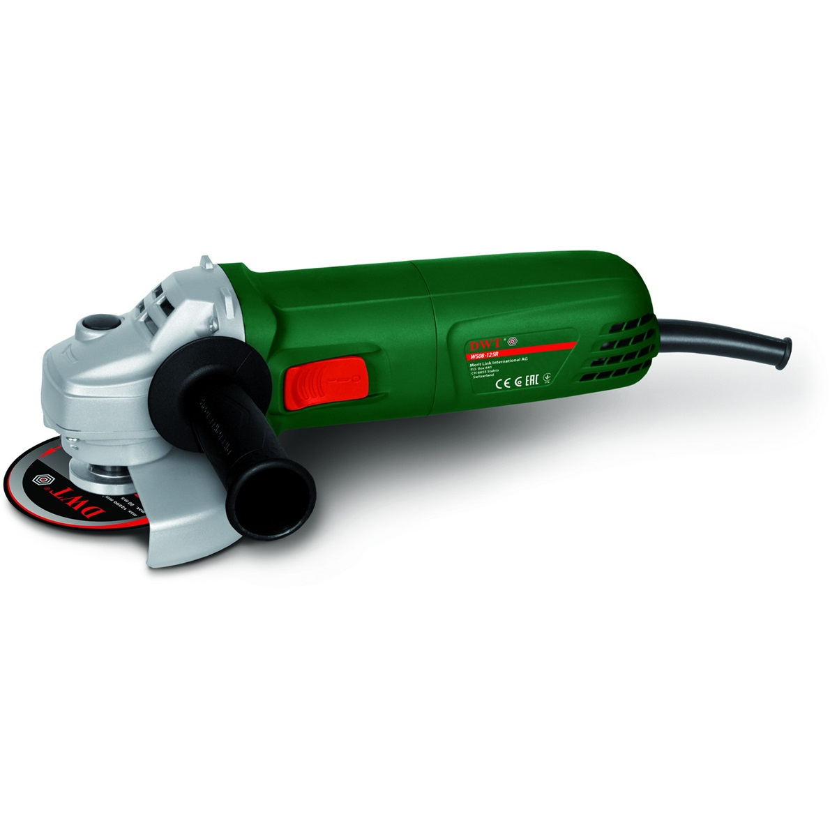 elektrická úhlová bruska 125 mm DWT WS08-125R