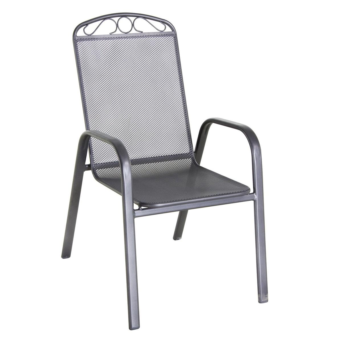 stohovatelná židle z tahokovu 71 x 56 x 99 cm Creador Klasik