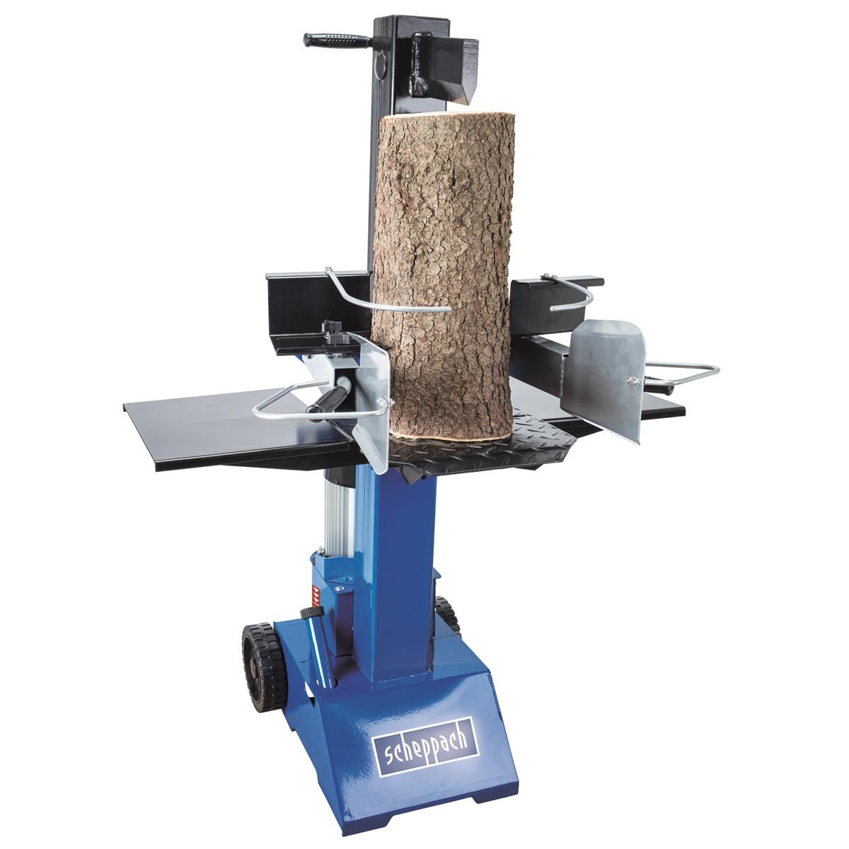 vertikálny štiepač dreva 8t Scheppach HL 810 (400 V)