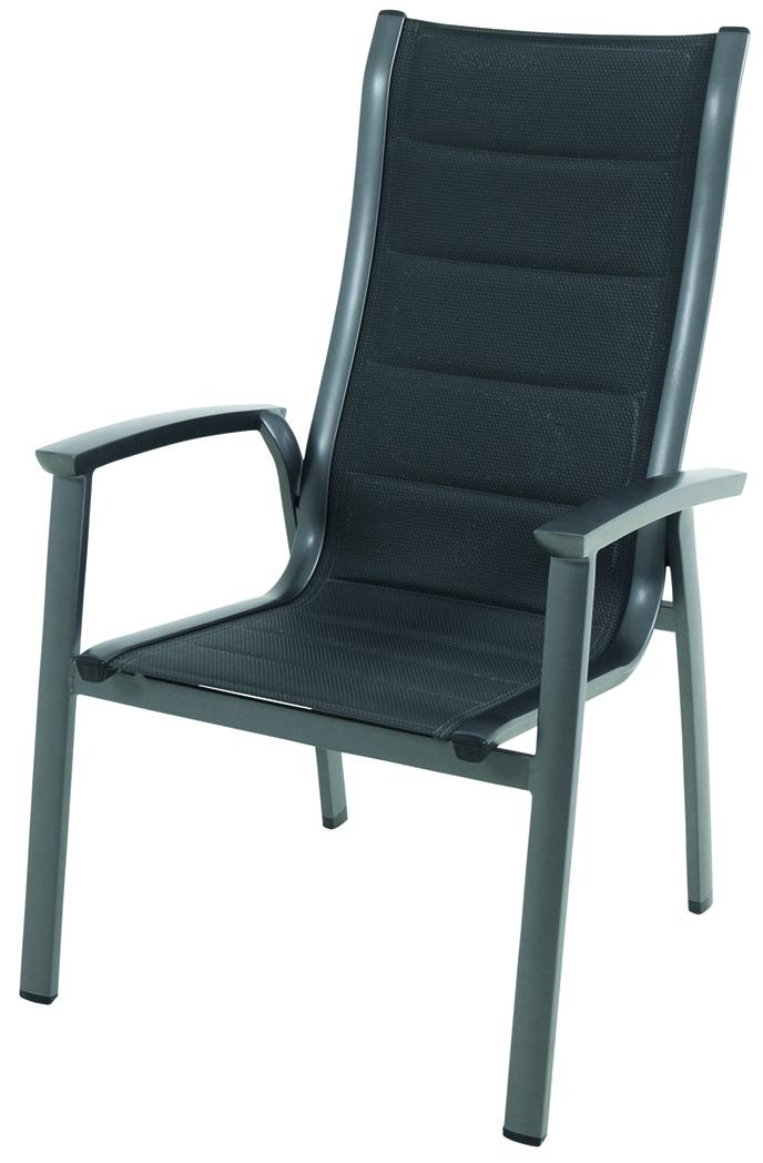 Royal Garden Royal Richmond, hliníková stohovatelná židle 65 x 67 x 108,5 cm