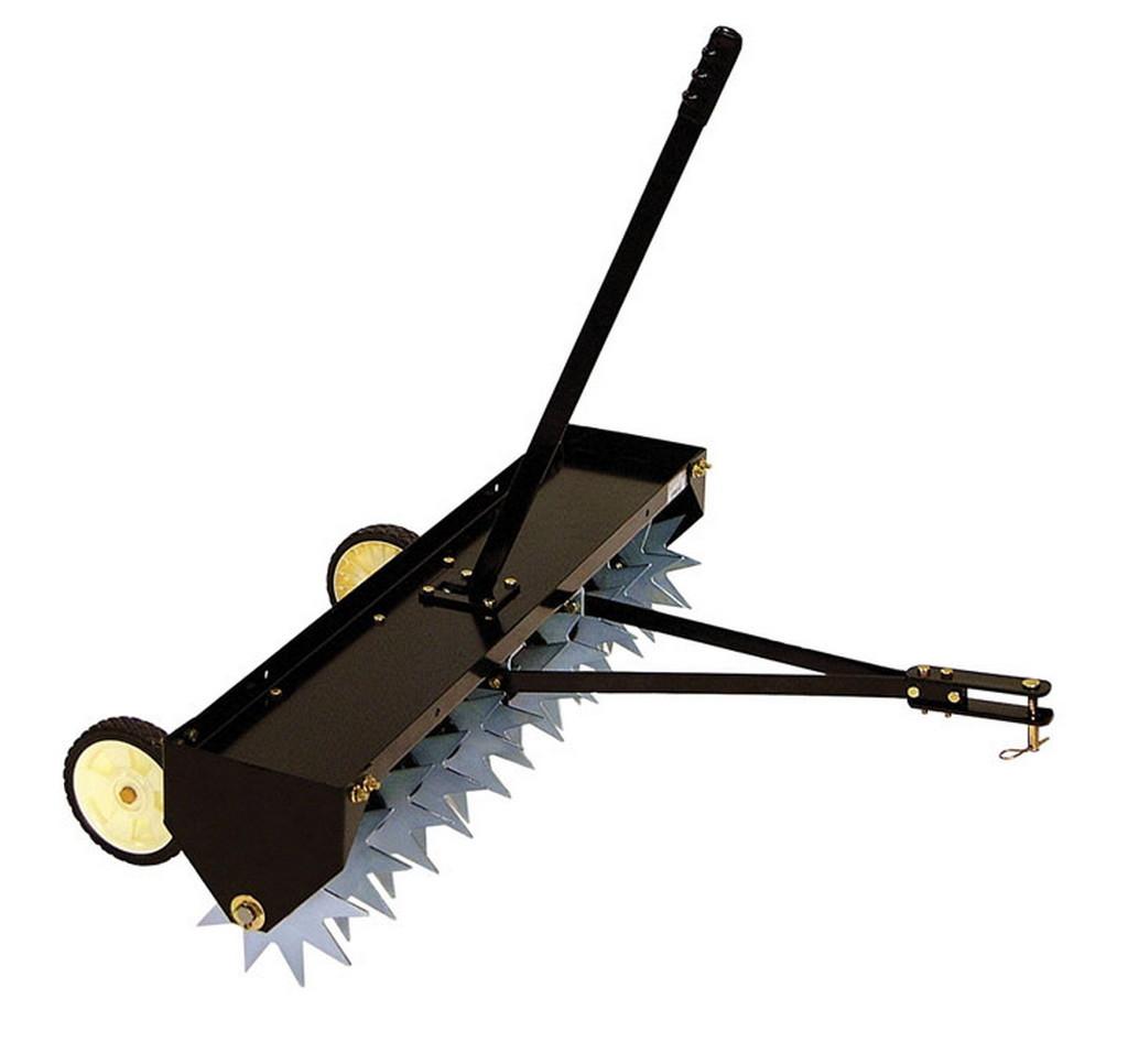 AgriFab AF 346, tažený travní provzdušňovač 102 cm
