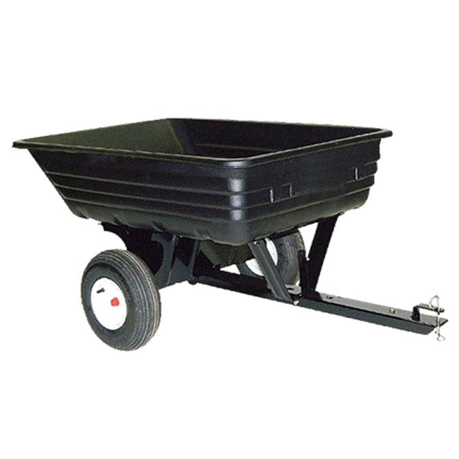 AgriFab Tažený vozík plastový, max. nosnost 175 kg