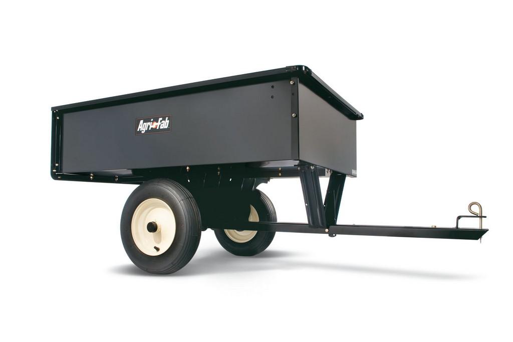 AgriFab AF 653, heavy duty tažený vozík se sklápěcí korbou