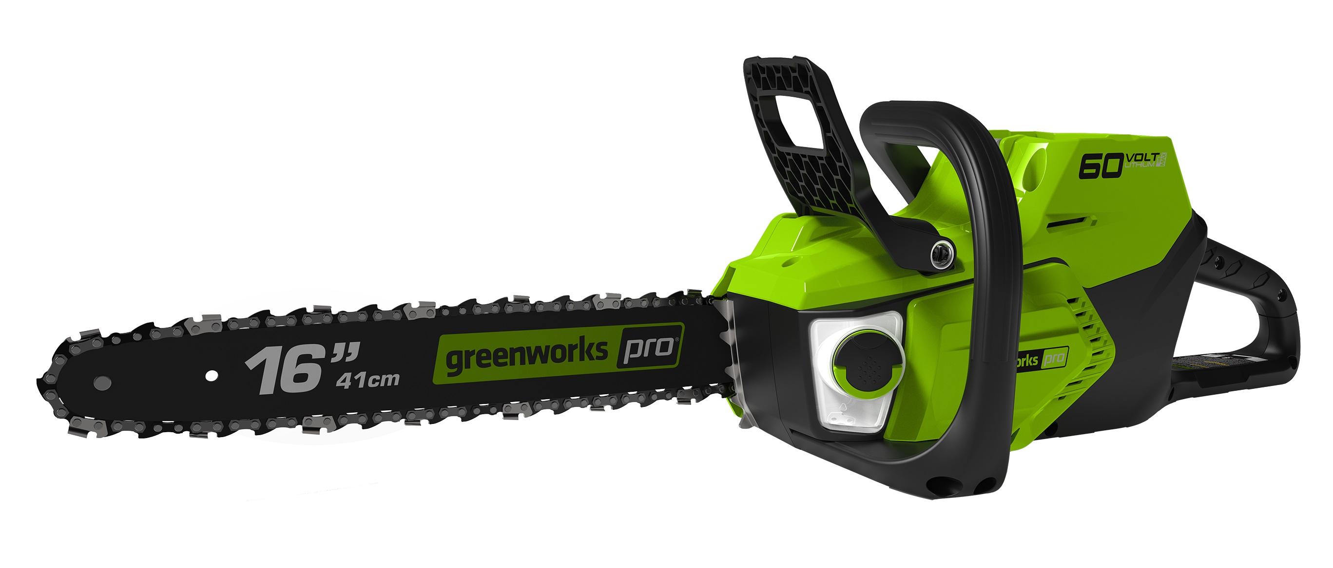 Greenworks GD60CS40, 60 V aku reťazová píla s indukčným motorom