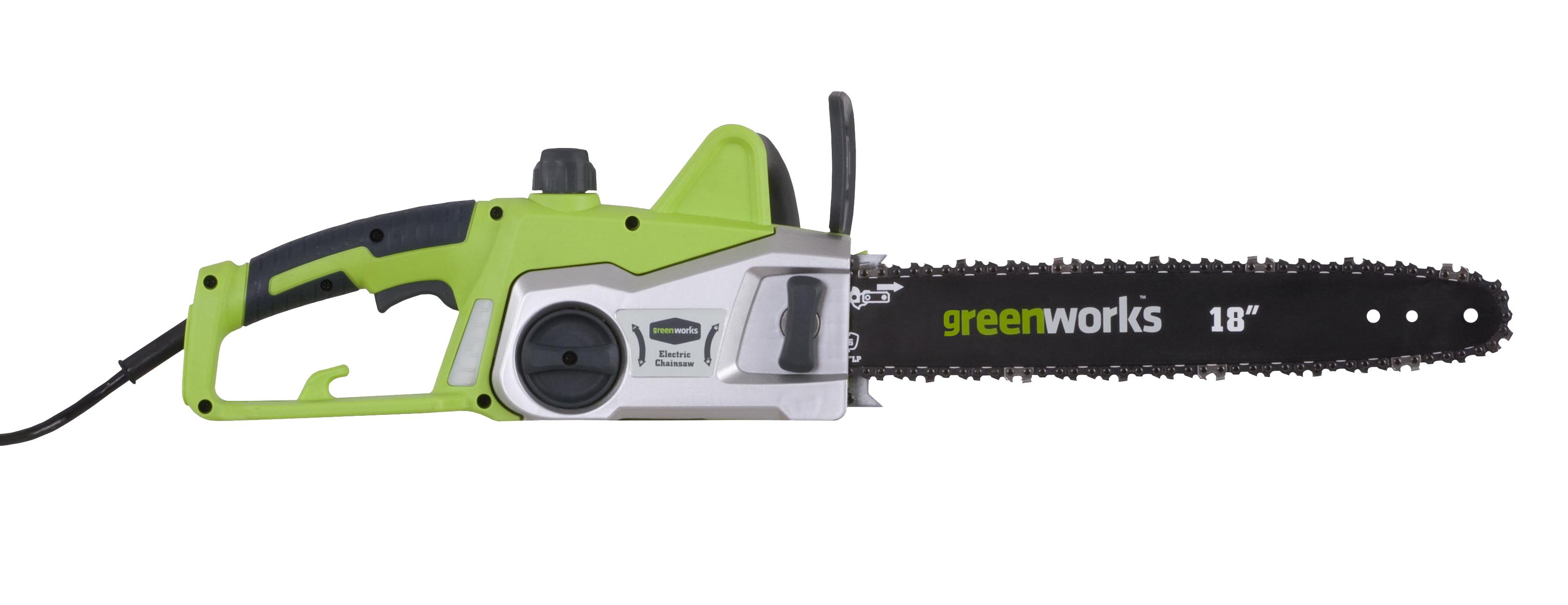 Greenworks GCS2046, reťazová píla s elektrickým motorom