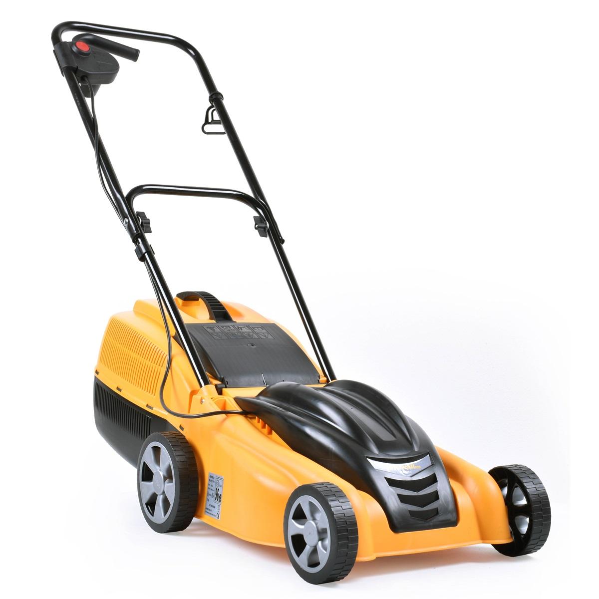 Riwall PRO REM 3813i, trávna kosačka s indukčným motorom 2 v 1