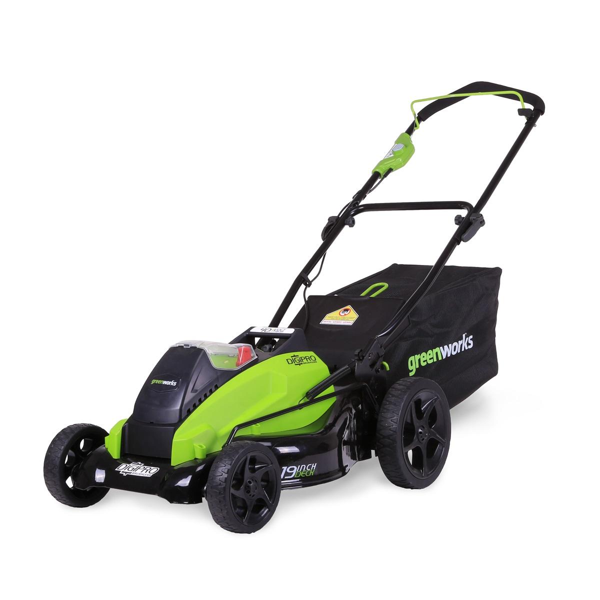 Greenworks GD40LM45, akumulátorová trávna kosačka 40 V s  indukčným motorom