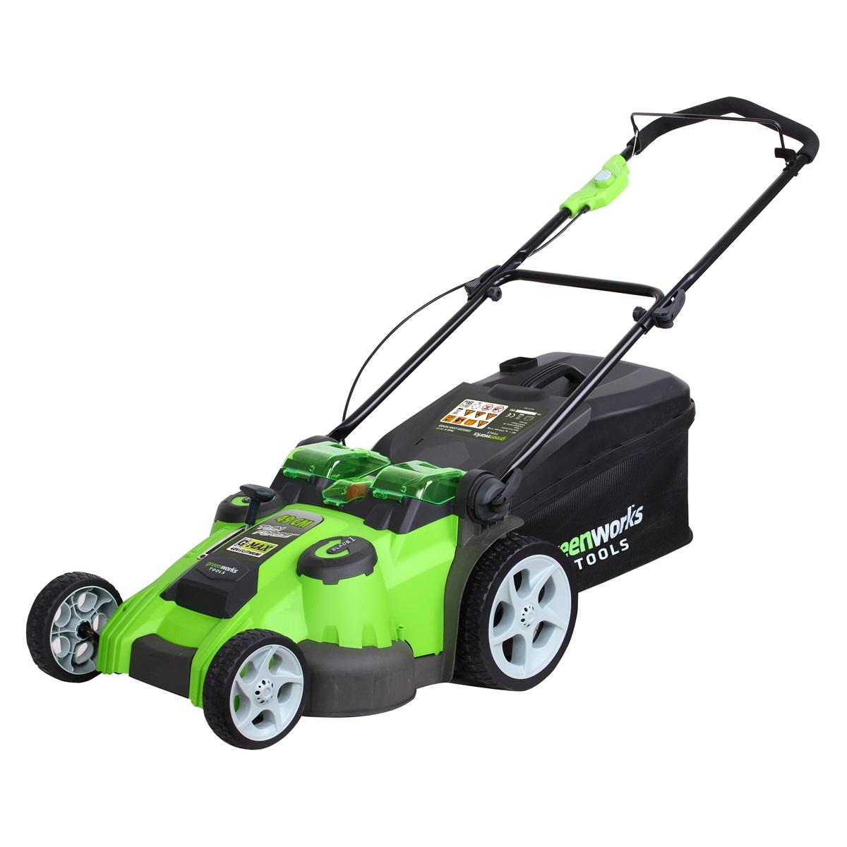Greenworks G40LM49DB, akumulátorová trávna kosačka 40 V