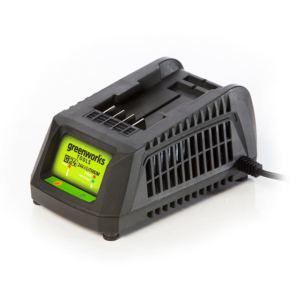 Greenworks G24C, nabíjačka 24 V