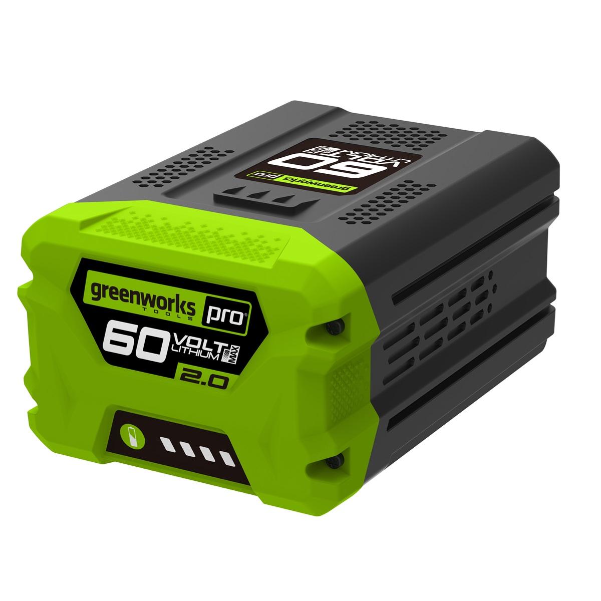 Greenworks G60B2, 60 V lithium iónová batéria 2 Ah