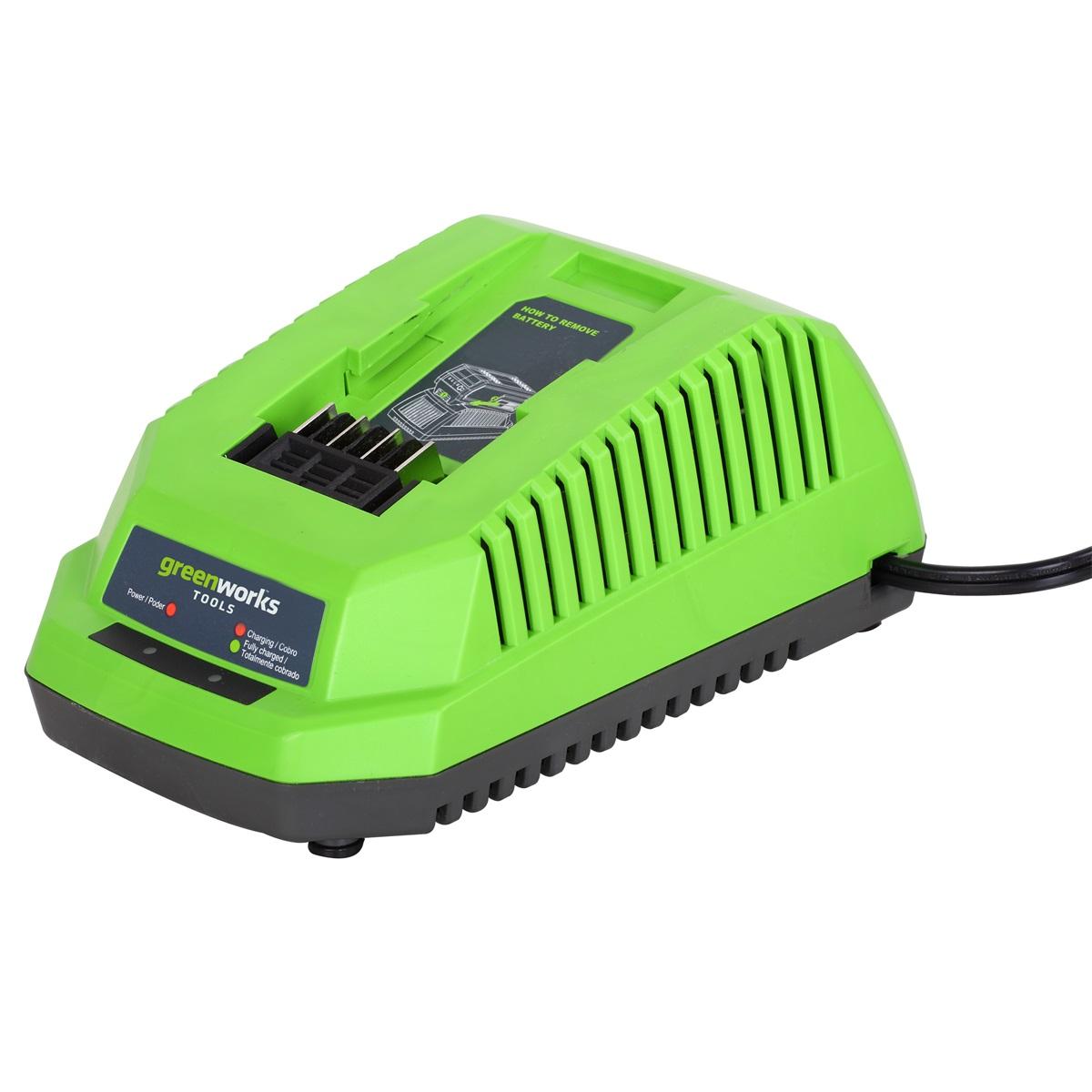 Greenworks G40C, nabíjačka 40 V