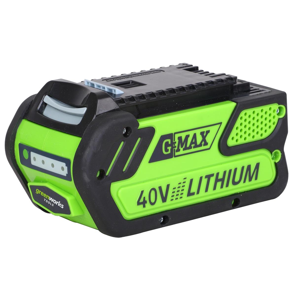 Greenworks G40B4, 40 V lithium iónová batéria 4 Ah